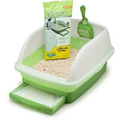 Amazon.com: Tidy Cats Breeze Litter Box: Pet Supplies