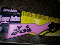 custom bb gun for your daughter!!!!