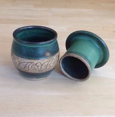 Hey, I found this really awesome Etsy listing at https://www.etsy.com/listing/205497213/pottery-french-butter-keeper-green