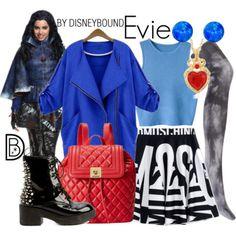 Disney Bound - Evie (The Descendants) Disney Themed Outfits, Disney Bound Outfits, Snow White Outfits, Evie Costume, Estilo Disney, Disney Inspired Fashion, Character Inspired Outfits, Disney Descendants, Descendants Costumes