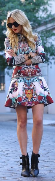 Clover Canyon 2013. Amazing dress with black booties