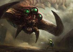 Morbid Fantasy • spassundspiele: Twinmold – Zelda fan art by...