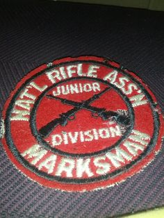 NRA vintage junior marksmanship badge by DrewsCollectibles on Etsy, $6.50