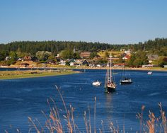 Lopez Island, WA. Let's go there and stay awhile. Invite all of our friends and stay longer.
