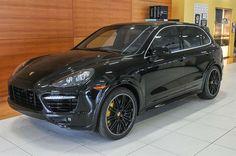2014 Porsche Cayenne Gts Black