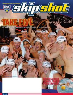 Here's a preview of the latest edition of Skip Shot, featuring USC Water Polo, 5 time National Champions! Skip Shot Magazine is the official publication of USA Water Polo.  #usawp #skipshot #waterpolo #usc