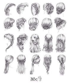 Drawing Hairstyles Profile Google Search Art Diy Drawings How