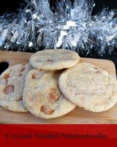 Caramel Studded Snickerdoodles | How to be awesome on $20 a day
