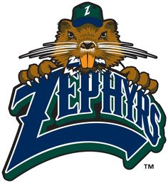New Orleans Zephyrs Primary Logo 2010 A Navy And