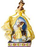 """Disney Traditions by Jim Shore Beauty and the Beast Figurine """"Moonlit Enchantment"""" (4010021)"""