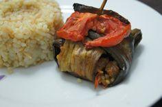 sehriyeli bulgur pilavi+islim kebabi