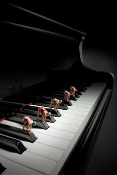 Dream imagination ♪♫ Music ♪♫ piano race