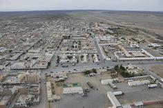 View of Smara City in the Western Sahara Territory (Sahara Occidental) south the Kingdom of Morocco
