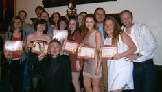 Fri 18th April 2014 - Moneypenny Murder Mystery Party Winners at Down Hall Country Hotel moneypenny0870@gmail.com