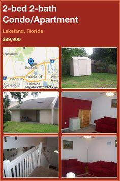 2-bed 2-bath Condo/Apartment in Lakeland, Florida ►$89,900 #PropertyForSale #RealEstate #Florida http://florida-magic.com/properties/2927-condo-apartment-for-sale-in-lakeland-florida-with-2-bedroom-2-bathroom