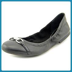 Ballerinas Damen-Schuhe Geschlossen Blockabsatz Blockabsatz Ital-Design Ballerinas Grau Silber, Gr 41, Dm880-2-