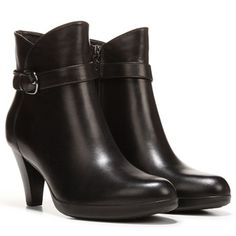 COLLEGE Isabel Black Leather