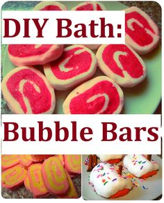 DIY Bubble Bath Bars Recipe, Homemade Gift Idea for Saint Valentine's Day, Birthday, Mother's Day or Christmas.