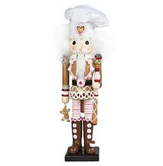 This Hollywood Gingerbread Nutcracker is a fun, festive way to add to your holiday décor or nutcracker collection! Designed by renowned artist Holly . German Christmas Decorations, Christmas Holidays, Christmas Ornaments, Xmas, Nutcracker Decor, Nutcracker Christmas, Nutcracker Soldier, Seasonal Decor, Holiday Decor