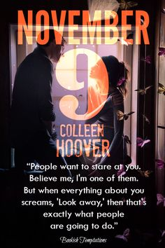 By now, I think we've already established how F. AH-MAZING Colleen Hoover is. Her mind is like an explosion of words that always puts together a beautiful story. I enjoyed reading her latest novel-...