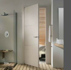 Linear Range of Doors from Italdoors Home Furniture, Furniture Design, Tall Cabinet Storage, Minimalism, Indoor, Interior Modern, House, Bathroom Ideas, Range