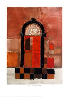 The Red Door - Rosina Wachtmeister Poster :: PicassoMio