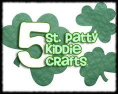 5 St. Patty's Day Kiddie Crafts