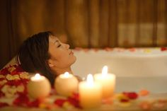 Imbolc is known as a time of purification and cleansing. A great way to incorporate this into your magical practice is to take a ritual cleansing bath.