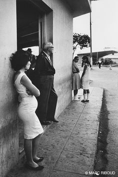 Cuba, 1963 by Marc Riboud Marc Riboud, Henri Cartier Bresson, World Photography, Street Photography, Our Man In Havana, Vintage Cuba, Long Pictures, Diane Arbus, French Photographers
