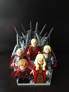 Lego Lannisters. Game of Thrones.
