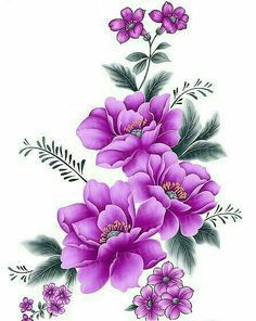 Flores Discover Items similar to Flowers Watercolor Painting Art Print on Etsy Enjoying The Journey:Cancer As A Lifestyle: An Early Riser . One Stroke Painting, Tole Painting, Fabric Painting, Watercolor Painting, Illustration Blume, Flower Pictures, Flower Wallpaper, Watercolor Flowers, Flower Designs