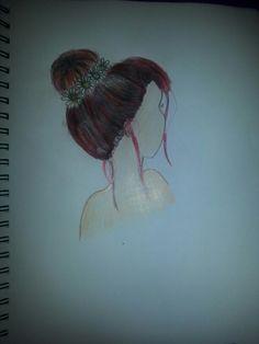 My version of a messy bun