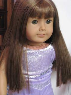 American Girl Doll #43 Medium Skin Brown Hair Bangs Hazel Eyes Truly Me NEW NIB