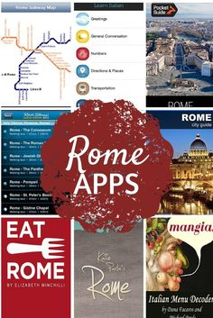 Dump the guidebooks, phrasebooks and maps and obtain all that you must your smartphone earlier than you go together with these Rome iPhone apps for vacationers. European Vacation, Italy Vacation, European Travel, Italy Trip, Italy Italy, Tuscany Italy, Sorrento Italy, Verona Italy, Capri Italy