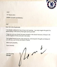 jose-mourinho-letter-to-kuykendall-family
