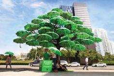 WWF – The Umbrella Tree by Tan Giap How, via Behance