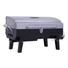 Short_Desc: The Char-Broil stainless steel gas tabletop grill is for on-the-go, anywhere grilling. Portable Gas Grill with stainless steel lid perfect for camping or tailgating. Stainless steel hinged grill lid with stainless handle. Char Broil Grill, Gas Grill Reviews, Table Top Grill, Best Electric Pressure Cooker, Portable Grill, Grilling, Stainless Steel, Tabletop, Camping