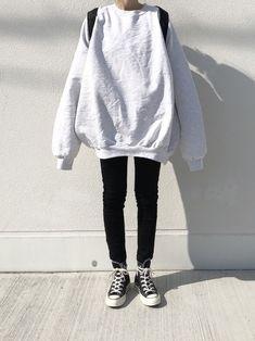 Korean Fashion Inspo sunflo w e r.Korean Fashion Inspo sunflo w e r Teen Fashion Outfits, Mode Outfits, Grunge Outfits, Girl Outfits, 90s Fashion, Lazy Fashion, Grunge Fashion, Vintage Fashion, Fashion Tips