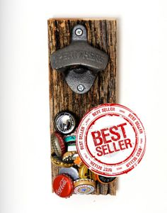 Magnetic Beer Bottle Opener - The Upcycled
