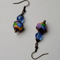 Summer Garden Earrings by newcreationsjewelry on Etsy, £5.49