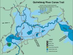 Kayak the Quinebaug Canoe Trail- East Brimfield MA-  CT  Printable Trail map at http://www.tlgv.org/uploads/Watershed/WaterTrails/QuinebaugRiverTrailEBrimfieldLake.pdf