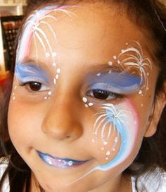 4th of July FacePainter Painting in Claremont, La Verne, Upland, Rancho Cucamonga, Montclair, SanDimas, Glendora, Azusa, Covina, Pomona,