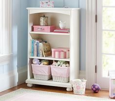 Catalina 3-Shelf Bookcase #PotteryBarnKids...i have searched the world over and here it is, should have gone to PBK first!