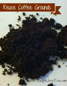 Reuse Coffee Grounds In Your Garden