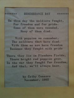 remembrance day poems for kids Remembrance Day Quotes, Remembrance Day Activities, Remembrance Sunday, Veterans Day Poem, Armistice Day, Anzac Day, Craft Quotes, Australia Day, School Resources