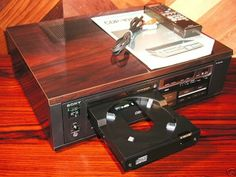 The one that started it all... The Sony CDP-101 was the world's first commercially released compact disc player. The system was launched in Japan on October 1, 1982 at a list price of 168,000 yen (approx $730 US).