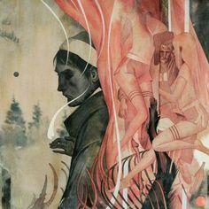 Joao Ruas. Love love love the first painting.