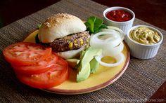 Vegan Black Bean and Quinoa Veggie Burger