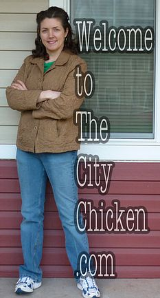 The City Chicken.com Raising Chickens in the city!