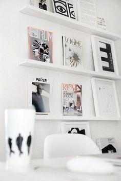 Tijdschriften opbergen